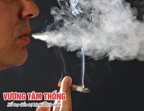 Hút thuốc lá làm tăng nguy cơ huyết áp cao